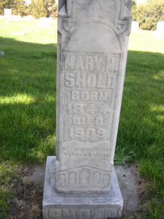 SHOLD, MARY N. - Dawes County, Nebraska | MARY N. SHOLD - Nebraska Gravestone Photos