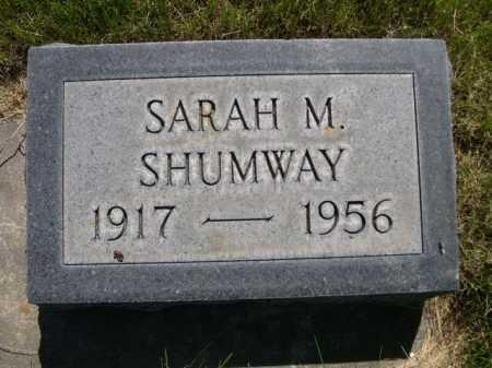 SHUMWAY, SARAH M. - Dawes County, Nebraska | SARAH M. SHUMWAY - Nebraska Gravestone Photos