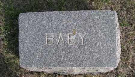 SIDES, BABY - Dawes County, Nebraska   BABY SIDES - Nebraska Gravestone Photos