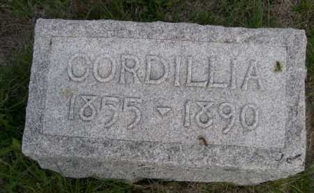 SIDES, CORDILLIA - Dawes County, Nebraska | CORDILLIA SIDES - Nebraska Gravestone Photos