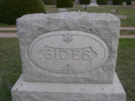 SIDES, FAMILY - Dawes County, Nebraska   FAMILY SIDES - Nebraska Gravestone Photos