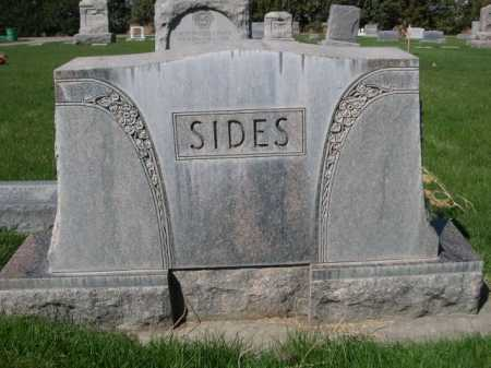 SIDES, FAMILY - Dawes County, Nebraska | FAMILY SIDES - Nebraska Gravestone Photos