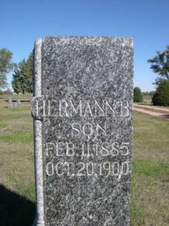 SIECKERT, HERMANN B. - Dawes County, Nebraska | HERMANN B. SIECKERT - Nebraska Gravestone Photos