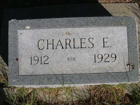 SIEFERS, CHARLES E. - Dawes County, Nebraska | CHARLES E. SIEFERS - Nebraska Gravestone Photos