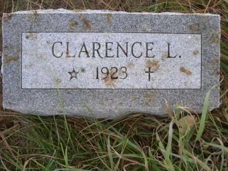 SIEFERS, CLARENCE L - Dawes County, Nebraska | CLARENCE L SIEFERS - Nebraska Gravestone Photos