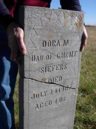 SIEFERS, DORA M. - Dawes County, Nebraska | DORA M. SIEFERS - Nebraska Gravestone Photos