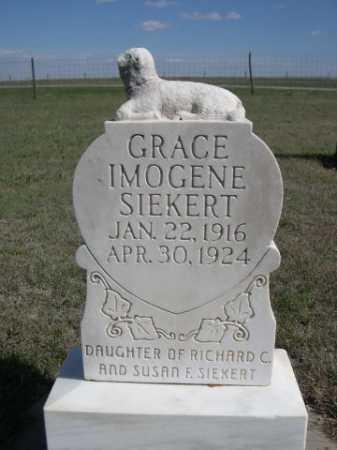 SIEKERT, GRACE IMOGENE - Dawes County, Nebraska | GRACE IMOGENE SIEKERT - Nebraska Gravestone Photos
