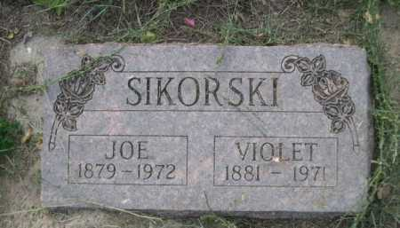SIKORSKI, JOE - Dawes County, Nebraska | JOE SIKORSKI - Nebraska Gravestone Photos