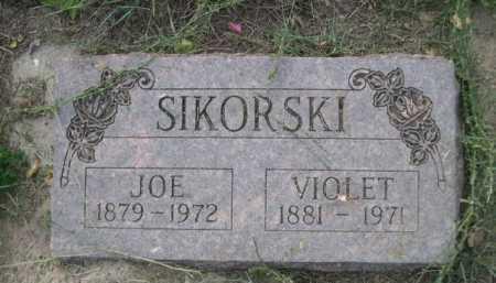 SIKORSKI, JOE - Dawes County, Nebraska | JOE SIKORSKI - Nebraska Gravestone Photos