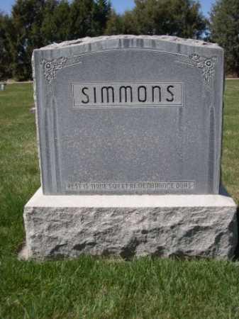 SIMMONS, FAMILY - Dawes County, Nebraska | FAMILY SIMMONS - Nebraska Gravestone Photos