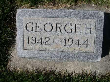 SIMMONS, GEORGE H. - Dawes County, Nebraska | GEORGE H. SIMMONS - Nebraska Gravestone Photos