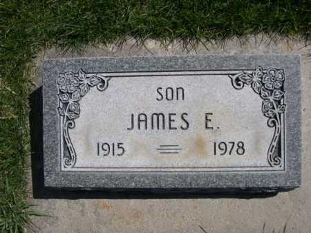 SIMMONS, JAMES E. - Dawes County, Nebraska | JAMES E. SIMMONS - Nebraska Gravestone Photos