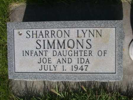 SIMMONS, SHARRON LYNN - Dawes County, Nebraska | SHARRON LYNN SIMMONS - Nebraska Gravestone Photos