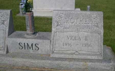 SIMS, VIOLA B. - Dawes County, Nebraska | VIOLA B. SIMS - Nebraska Gravestone Photos