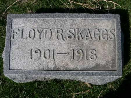 SKAGGS, FLOYD R. - Dawes County, Nebraska | FLOYD R. SKAGGS - Nebraska Gravestone Photos