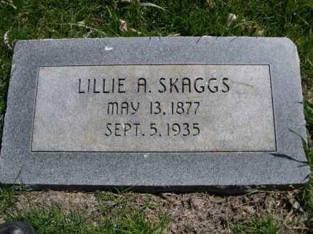 SKAGGS, LILLIE A. - Dawes County, Nebraska   LILLIE A. SKAGGS - Nebraska Gravestone Photos