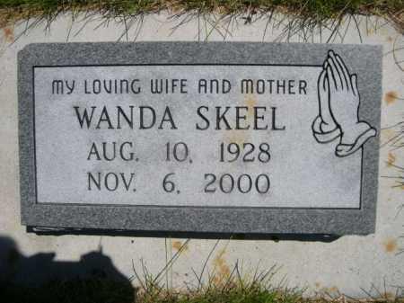 SKEEL, WANDA - Dawes County, Nebraska | WANDA SKEEL - Nebraska Gravestone Photos