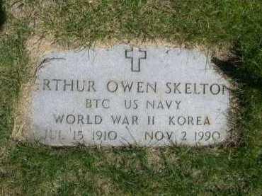 SKELTON, ARTHUR OWEN - Dawes County, Nebraska | ARTHUR OWEN SKELTON - Nebraska Gravestone Photos