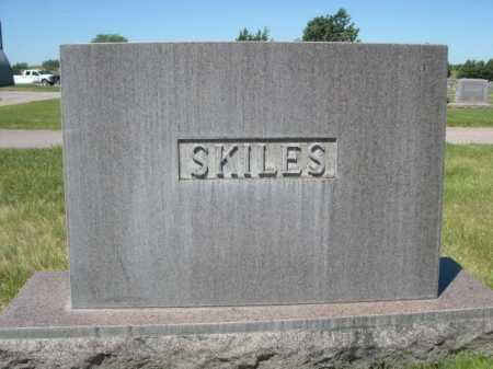 SKILES, FAMILY - Dawes County, Nebraska | FAMILY SKILES - Nebraska Gravestone Photos