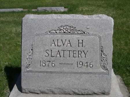 SLATTERY, ALVA H. - Dawes County, Nebraska | ALVA H. SLATTERY - Nebraska Gravestone Photos