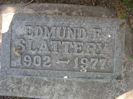 SLATTERY, EDMUND F. - Dawes County, Nebraska | EDMUND F. SLATTERY - Nebraska Gravestone Photos