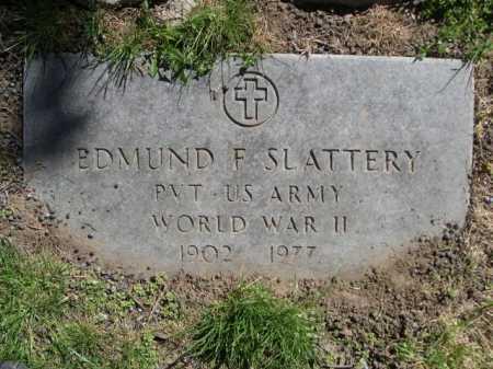 SLATTERY, EDMUND F. - Dawes County, Nebraska   EDMUND F. SLATTERY - Nebraska Gravestone Photos