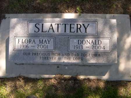 SLATTERY, DONALD - Dawes County, Nebraska | DONALD SLATTERY - Nebraska Gravestone Photos