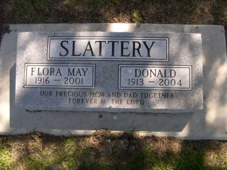 SLATTERY, FLORA MAY - Dawes County, Nebraska | FLORA MAY SLATTERY - Nebraska Gravestone Photos