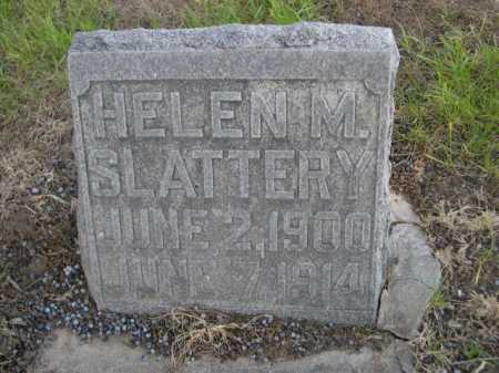 SLATTERY, HELEN M. - Dawes County, Nebraska   HELEN M. SLATTERY - Nebraska Gravestone Photos
