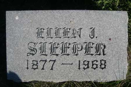 SLEEPER, ELLEN J. - Dawes County, Nebraska | ELLEN J. SLEEPER - Nebraska Gravestone Photos