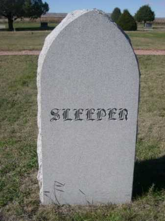 SLEEPER, FAMILY - Dawes County, Nebraska | FAMILY SLEEPER - Nebraska Gravestone Photos