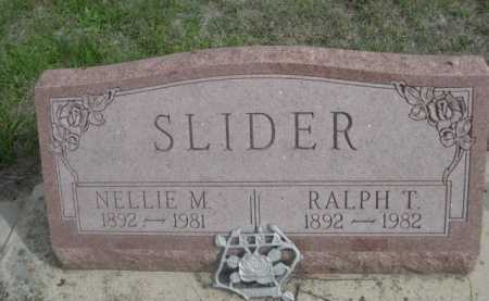 SLIDER, NELLIE M. - Dawes County, Nebraska | NELLIE M. SLIDER - Nebraska Gravestone Photos