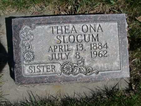 SLOCUM, THEA ONA - Dawes County, Nebraska | THEA ONA SLOCUM - Nebraska Gravestone Photos