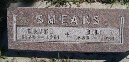 SMEAKS, BILL - Dawes County, Nebraska   BILL SMEAKS - Nebraska Gravestone Photos