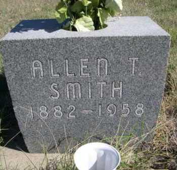 SMITH, ALLEN T. - Dawes County, Nebraska   ALLEN T. SMITH - Nebraska Gravestone Photos