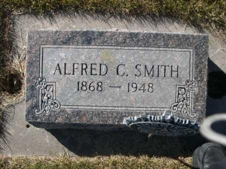SMITH, ALFRED C. - Dawes County, Nebraska   ALFRED C. SMITH - Nebraska Gravestone Photos