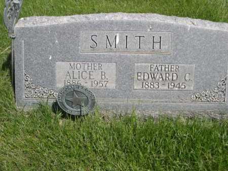 SMITH, EDWARD C. - Dawes County, Nebraska | EDWARD C. SMITH - Nebraska Gravestone Photos