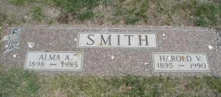 SMITH, HAROLD V. - Dawes County, Nebraska | HAROLD V. SMITH - Nebraska Gravestone Photos