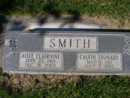SMITH, CALVIN LEONARD - Dawes County, Nebraska   CALVIN LEONARD SMITH - Nebraska Gravestone Photos