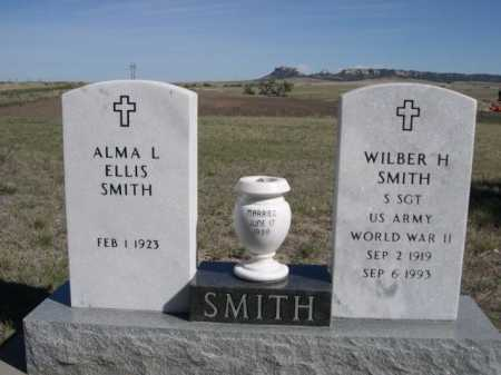 ELLIS SMITH, ALMA L - Dawes County, Nebraska | ALMA L ELLIS SMITH - Nebraska Gravestone Photos