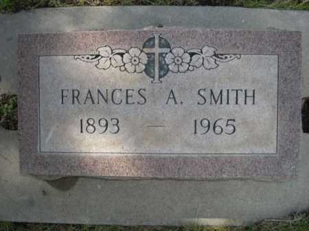 SMITH, FRANCES A. - Dawes County, Nebraska   FRANCES A. SMITH - Nebraska Gravestone Photos