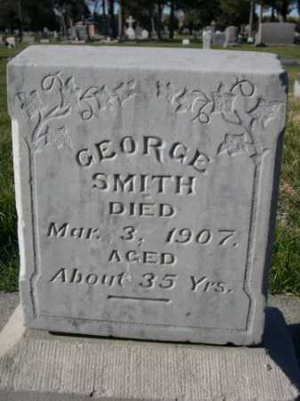 SMITH, GEORGE - Dawes County, Nebraska   GEORGE SMITH - Nebraska Gravestone Photos