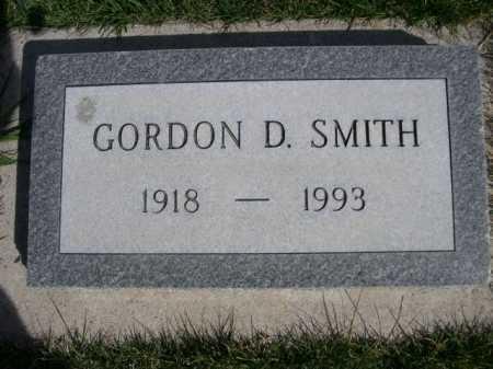 SMITH, GORDON D. - Dawes County, Nebraska | GORDON D. SMITH - Nebraska Gravestone Photos