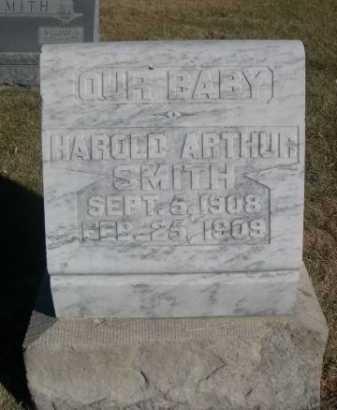 SMITH, HAROLD ARTHUR - Dawes County, Nebraska | HAROLD ARTHUR SMITH - Nebraska Gravestone Photos