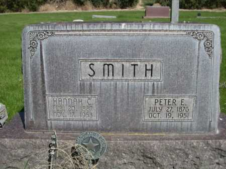 SMITH, HANNAH C. - Dawes County, Nebraska | HANNAH C. SMITH - Nebraska Gravestone Photos