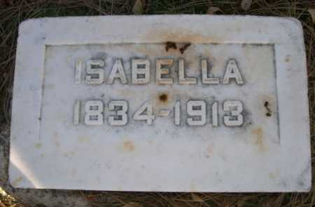 SMITH, ISABELLA - Dawes County, Nebraska | ISABELLA SMITH - Nebraska Gravestone Photos