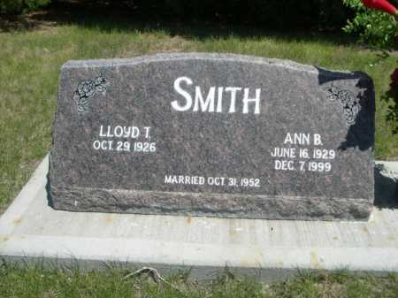 SMITH, LLOYD T. - Dawes County, Nebraska | LLOYD T. SMITH - Nebraska Gravestone Photos