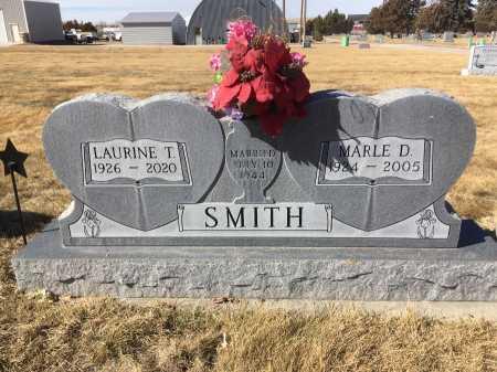 SMITH, LAURINE T. - Dawes County, Nebraska | LAURINE T. SMITH - Nebraska Gravestone Photos