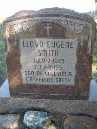 SMITH, LLOYD EUGENE - Dawes County, Nebraska | LLOYD EUGENE SMITH - Nebraska Gravestone Photos
