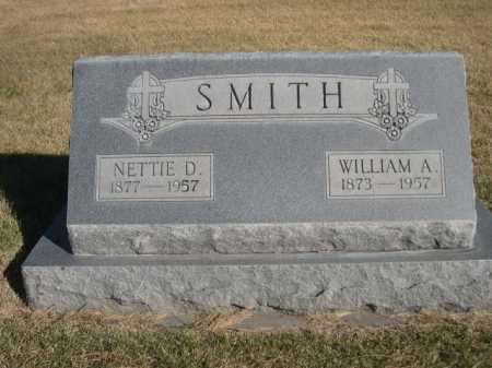 SMITH, WILLIAM A. - Dawes County, Nebraska | WILLIAM A. SMITH - Nebraska Gravestone Photos